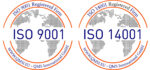 ISO9001 and ISO14001 certification